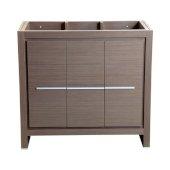 Allier 36'' Gray Oak Modern Vanity Base Cabinet, 35-3/8'' W x 18'' D x 32-7/8'' H