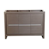 Allier 48'' Gray Oak Modern Vanity Base Cabinet, 47-1/4'' W x 18'' D x 32-7/8'' H