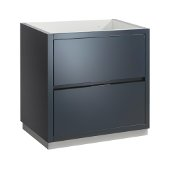 Valencia 30'' Dark Slate Gray Free Standing Modern Bathroom Cabinet , Vanity Base: 30'' W x 19'' D x 30'' H