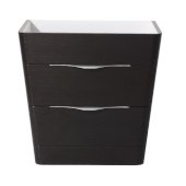 Milano 32'' Chestnut Modern Vanity Base Cabinet, 31-1/2'' W x 20-1/2'' D x 31-1/4'' H