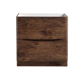 Tuscany 32'' Freestanding Single Bathroom Vanity Cabinet in Rosewood Finish, 31-3/10'' W x 18-4/5'' D x 31-1/2'' H