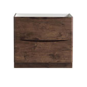 Tuscany 36'' Freestanding Single Bathroom Vanity Cabinet in Rosewood Finish, 35-3/10'' W x 18-4/5'' D x 31-1/2'' H