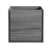 Catania 24'' Wall Hung Single Bathroom Vanity Cabinet in Ocean Gray Finish, 23-3/5'' W x 18-2/5'' D x 22-4/5'' H