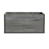 Catania 48'' Wall Hung Single Bathroom Vanity Cabinet in Ocean Gray Finish, 47-1/10'' W x 18-2/5'' D x 22-4/5'' H