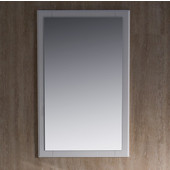 Oxford 20'' Antique White Mirror