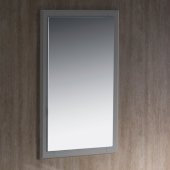 Oxford 20'' W Gray Mirror, 20'' W x 1-7/8'' D x 31-7/8'' H