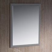 Oxford 26'' Gray Mirror, 26'' W x 1-7/8'' D x 31-7/8'' H
