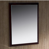 Oxford 26'' Mahogany White Mirror