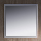 Oxford 32'' Antique White Mirror