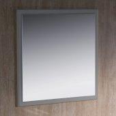 Oxford 32'' W Gray Mirror, 31-7/8'' W x 1-7/8'' D x 31-7/8'' H