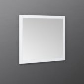 Manchester 30'' White Traditional Bathroom Wall Mirror, 30'' W x 1'' D x 30'' H