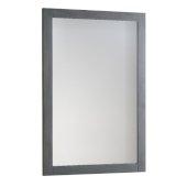 Manchester Regal 20'' Gray Wood Veneer Traditional Bathroom Mirror, 20'' W x 1'' D x 30'' H