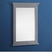 Windsor 24'' Gray Textured Bathroom Mirror, 24''W x 1-4/5'' D x 34-4/5'' H