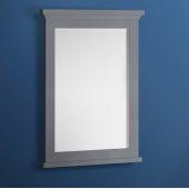 Windsor 27'' Gray Textured Bathroom Mirror, 27''W x 1-4/5'' D x 34-4/5'' H