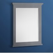 Windsor 30'' Gray Textured Bathroom Mirror, 30''W x 1-4/5'' D x 34-4/5'' H