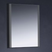 Torino 26'' W Gray Mirror, 25-1/2'' W x 1-1/4'' D x 31-1/2'' H