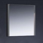 Torino 32'' W Gray Mirror, 31-1/2'' W x 1-1/4'' D x 31-1/2'' H