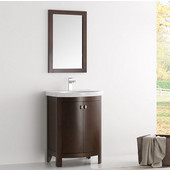 Greenwich 24'' Antique Coffee Traditional Bathroom Vanity, Dimensions of Vanity: 24-3/5'' W x 19'' D x 34-4/5'' H