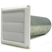 Fantech Louvered Sutter for 4'' Ducting Minimum