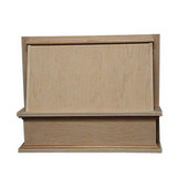 Classic Valance Wall Mount Wood Hood, Different Sizes & Finishes Available (CFM depends on choice of blower, not included)