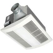 110 CFM Whisper Warm Bathroom Fan with Heater, Light & Nightlight