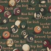 Grace Fabric: Billiards