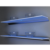 Glass Shelf Lighting on Sale