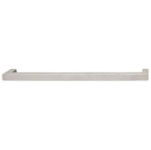 Cornerstone Series Stainless Steel Collection (13-3/5'' W) Cabinet Handle in Matt Stainless Steel, 345mm W x 40mm D x 15mm H, Center to Center: 330mm  (13'')