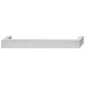 Futura Collection Handle in Matt Stainless Steel, 141mm W x 38mm D x 26mm H
