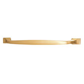 Beaulieu Collection in Brushed Brass, 227mm W x 29mm D x 18mm H