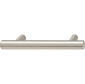 Cornerstone Series Elemental Collection (4-1/2'' W) Bar Handle in Stainless Steel Look, 116mm W x 35mm D x 12mm H, Center to Center: 3''