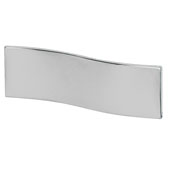 Lago di Como Collection Handle in Polished Chrome, 20mm W x 27mm D x 60mm