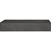 Lago di Como Collection Handle in Black Slate, 150mm W x 18-1/2mm D x 60mm H