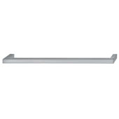 Vogue Collection (9-1/6''W) Handle in Brushed Nickel, 233mm W x 28mm D x 9mm H, 224mm Center to Center