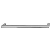 Vogue Collection (8''W) Handle in Polished Chrome, 201mm W x 28mm D x 9mm H, 192mm Center to Center