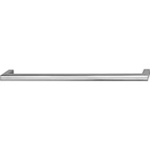 Vogue Collection (9-1/6''W) Handle in Polished Chrome, 233mm W x 28mm D x 9mm H, 224mm Center to Center