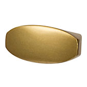 Velocity Collection (1-7/16''W) Knob, Ultra Brass, 36mm W x 26mm D x 17mm H