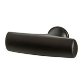 Hickory Greenwich Collection (1-3/4''W) Knob, Oil-Rubbed Bronze, 44mm W x 28mm D x 13mm H
