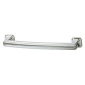 Hickory Bridges Collection (5-13/16''W) Handle, Polished Chrome, 148mm W x 28mm D x 19mm H, 128mm Center to Center
