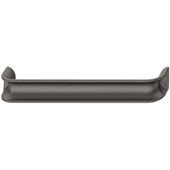 Eclipse Collection Handle in Anthracite, 170mm W x 24mm D x 30mm H