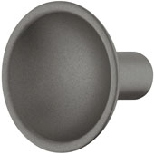 Eclipse Collection Knob in Anthracite, 35mm Diameter x 30mm Height