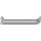 Eclipse Collection Handle in Silver, 170mm W x 24mm D x 30mm H