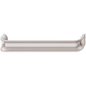Eclipse Collection Handle in Rose Silver, 170mm W x 24mm D x 30mm H