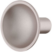 Eclipse Collection Knob in Rose Silver, 35mm Diameter x 30mm Height