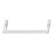 Design Deco Series Design Model H2190 Collection Zinc Handle in Satin/Brushed Nickel, 170mm W x 32mm D x 37mm H (6-11/16'' W x 1-1/4'' D x 1-7/16'' H), Center to Center: 160mm (6-5/16'')