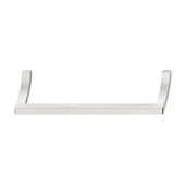 Design Deco Series Design Model H2190 Collection Zinc Handle in Satin/Brushed Nickel, 329mm W x 32mm D x 37mm H (12-15/16'' W x 1-1/4'' D x 1-7/16'' H), Center to Center: 320mm (12-5/8'')