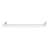 Design Deco Series Design Model H2125 Collection Zinc Handle in Polished Chrome, 140mm W x 27mm D x 12mm H (5-1/2'' W x 1-1/16'' D x 1/2'' H), Center to Center: 128mm (5-1/16'')