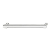Design Deco Series Design Model H2120 Collection Zinc Handle in Polished Chrome, 334mm W x 35mm D x 20mm H (13-1/8'' W x 1-3/8'' D x 13/16'' H), Center to Center: 320mm (12-5/8'')