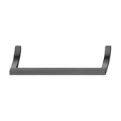 Design Deco Series Design Model H2190 Collection Zinc Handle in Brushed Black Nickel, 329mm W x 32mm D x 37mm H (12-15/16'' W x 1-1/4'' D x 1-7/16'' H), Center to Center: 320mm (12-5/8'')