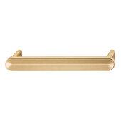 Design Deco Series Design Model H2110 Collection Aluminum Handle in Light Bronze, 181mm W x 28mm D x 22mm H (7-1/8'' W x 1-1/8'' D x 7/8'' H), Center to Center: 160mm (6-5/16'')